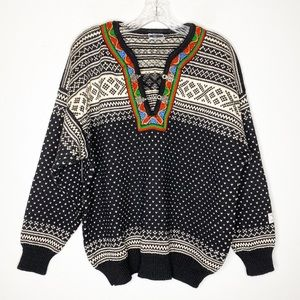 Dale of Norway Pure New Wool Pullover Sweater Med